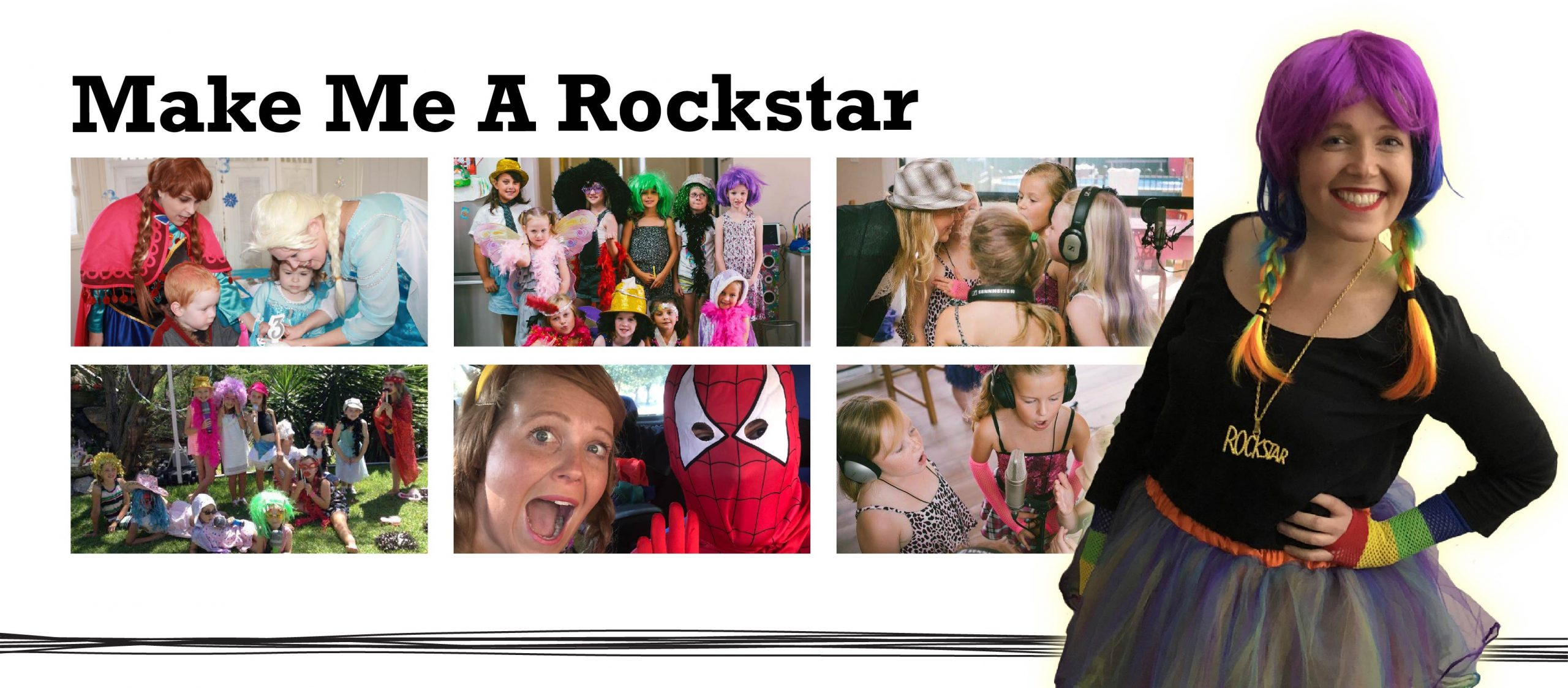 Make me a Rockstar- unique entertainment for your budding star